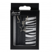4smarts DressUP Zip with Finger Ring (zebra) 4