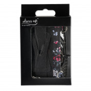 4smarts DressUP Grip Flowers with Lanyard (black) 4