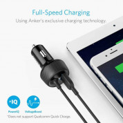 Anker PowerDrive 2 Elite with Lightning Connector - зарядно за кола с USB изход и вграден Lightning кабел (черен) 1
