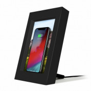 TwelveSouth PowerPic - wireless charging pictureframe (black)