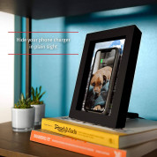 TwelveSouth PowerPic - wireless charging pictureframe (black) 4