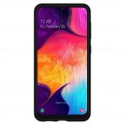 Spigen Rugged Armor Case - тънък качествен силиконов (TPU) калъф за Samsung Galaxy A50 (черен) 3