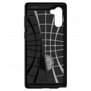 Spigen Slim Armor CS Case - хибриден кейс с отделение за кр. карти и най-висока степен на защита за Samsung Galaxy Note 10 (черен) 5
