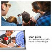 Spigen Ultra Hybrid Case - хибриден кейс с висока степен на защита за Samsung Galaxy Note 10 Plus (прозрачен) 2