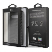 Mercedes-Benz Dynamic Carbon Fiber Hard Case for Samsung Galaxy S10 (black) 5