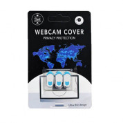 WebCam Cover for laptops, iPhone and mobile devices (3 pack) (white)