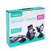Omega Universal Car and Bike Accessories Kit 10in1 (black)	 1