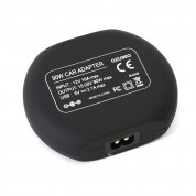 Omega Universal Car Automatic Notebook Charger 2in1 90W with 2.1 USB Port  (black) 4