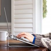 TwelveSouth ParcSlope - ергономична алуминиева повдигаща поставка за MacBook и iPad Pro (сребриста) 4