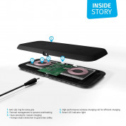 Zens Dual Wireless Charger 10W with Power Supply (EU/UK/US) ZEDC02BP (black) 3