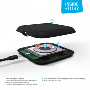 Zens Single Wireless Charger 10W ZESC10B - (black)  3