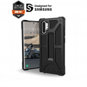 Urban Armor Gear Monarch - удароустойчив хибриден кейс за Samsung Galaxy Note 10 (черен) 3