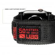 Urban Armor Gear Active Watch Strap - изключително здрава текстилна каишка за Apple Watch 42мм, 44мм (черен) 3