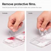 Spigen Ciel Red Floral Case - дизайнерски удароустойчив кейс за iPhone 11 Pro (прозрачен) 4