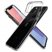 Spigen Liquid Crystal Case - тънък силиконов (TPU) калъф за iPhone 11 Pro (прозрачен)  7