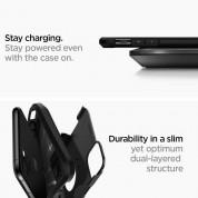 Spigen Tough Armor Case - хибриден кейс с най-висока степен на защита за iPhone 11 Pro (черен) 5