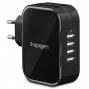 Spigen F401 4-port USB Wall Charger 3