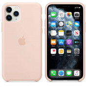 Apple Silicone Case for iPhone 11 Pro Max (pink sand)