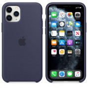 Apple Silicone Case for iPhone 11 Pro Max (midnight blue)
