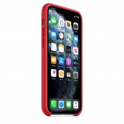 Apple Silicone Case for iPhone 11 Pro Max (red) 5