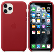 Apple iPhone Leather Case for iPhone 11 Pro Max (red)