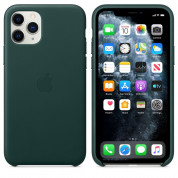 Apple iPhone Leather Case for iPhone 11 Pro Max (forest green)
