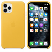 Apple iPhone Leather Case for iPhone 11 Pro Max (meyer lemon)