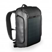 Kingsons Beam Backpack with Solar Pane for Macbook Pro 15 and laptops up to 15 inches (black)