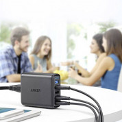 Anker PowerPort Speed 5 Ports Quick Charge 3.0, 51.5W 5-Port USB Wall Charger (black) 5