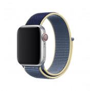 Apple Alaskan Blue Sport Loop - оригинална текстилна каишка за Apple Watch 38мм, 40мм (син) 1
