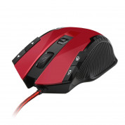 TeckNet GM269-V1 Wired Programmable Gaming Mouse - red