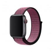Apple Watch Nike Band Sport Loop - оригинална текстилна каишка за Apple Watch 42мм, 44мм (розов-лилав) 1