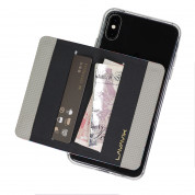 4smarts LAVAVIK Simple Credit Card Holder with Stand Function (grey) 3