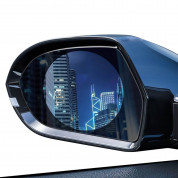 Baseus 0.15mm Rainproof Film for Car Rear-View Mirror (2 pcs, round, 95 x 95 mm) 1