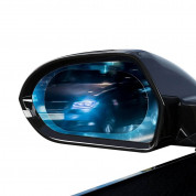 Baseus 0.15mm Rainproof Film for Car Rear-View Mirror (2 pcs, oval, 150 х 100 mm) 2