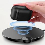 Baseus Airpods Silicone Wireless Charging Case - силиконов калъф с възможност за безжично зареждане за Apple Airpods & Apple Airpods 2 (черен)