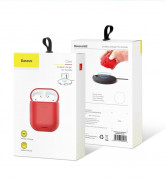 Baseus Airpods Silicone Wireless Charging Case (red) 7