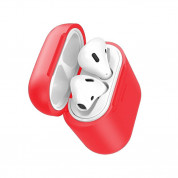 Baseus Airpods Silicone Wireless Charging Case (red) 2