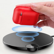 Baseus Airpods Silicone Wireless Charging Case (red)