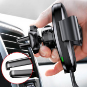 Baseus Wireless Charger Gravity Car Mount (black) 3