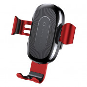 Baseus Wireless Charger Gravity Car Mount (red)