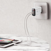 Baseus Mirror Travel Wall Charger (white) 4