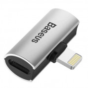 Baseus Double Lightning Adapter L46 (silver) 2