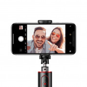 Baseus Fully Folding Bluetooth Tripod Selfie Stick (black-red) 5