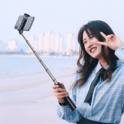 Baseus Fully Folding Bluetooth Tripod Selfie Stick (black-silver) 15