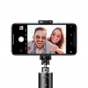 Baseus Fully Folding Bluetooth Tripod Selfie Stick (black-silver) 5