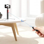 Baseus Fully Folding Bluetooth Tripod Selfie Stick (black-gold) 12