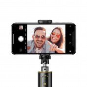 Baseus Fully Folding Bluetooth Tripod Selfie Stick (black-gold) 4