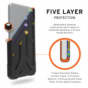 Urban Armor Gear Monarch Case for iPhone 11 Pro Max (carbon) 5