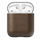 Nomad Leather Case for Apple Airpods (rustic brown)